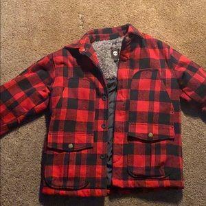 Timberlain men's winter jacket plaid